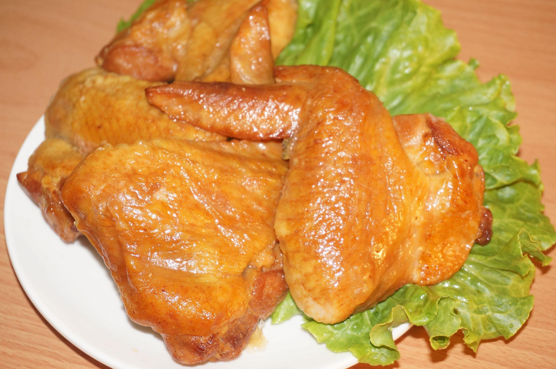 煙燻蔗香烤雞翅